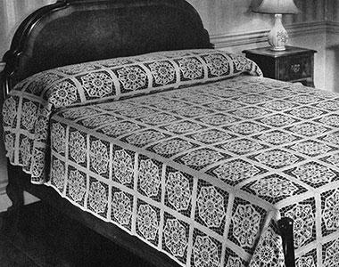 Serenade Bedspread Pattern #654