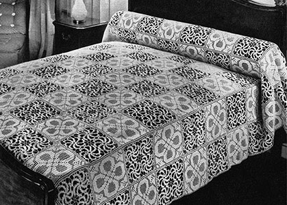Stepping Stones Bedspread Pattern #656