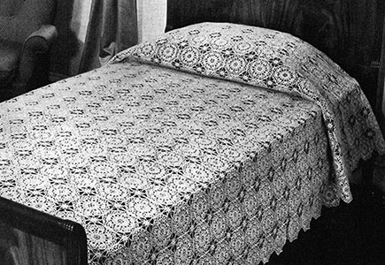 Georgianna Bedspread Pattern #658