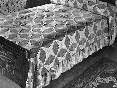 May Queen Bedspread Pattern #661