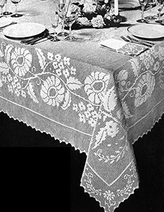 Floral Classic Tablecloth Pattern #7139