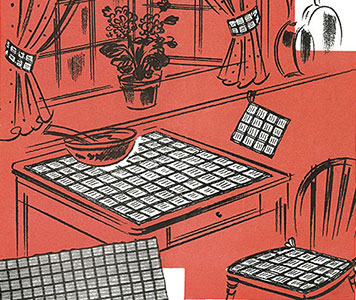 Kitchen Set Pattern #7163