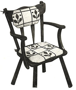 Colonial Chair Set Pattern #7168