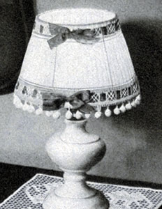 Boudoir Lamp Shades Pattern #7174