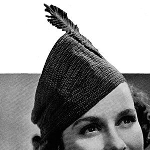 Algiers Hat Pattern #2332