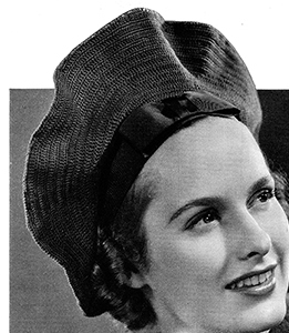 Angel Face Hat Pattern #2358