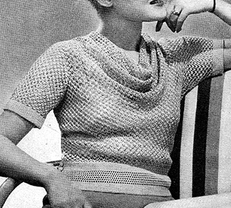 Mayfair Pullover Pattern #1178