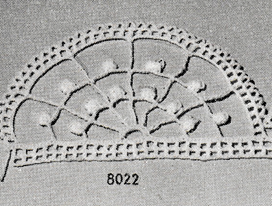 Edging Pattern #8022