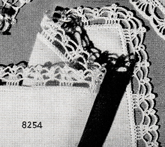 Handkerchief Edging Pattern #8254