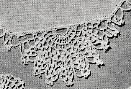 Handkerchief Edging Pattern #8265