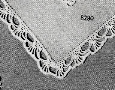 Handkerchief Edging Pattern #8280