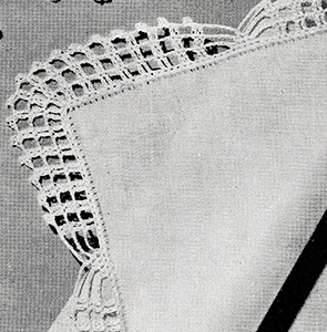 Handkerchief Edging Pattern #8327