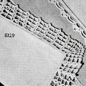 Handkerchief Edging Pattern #8329