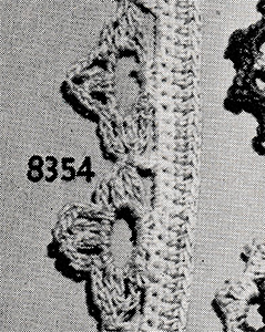 Two-Color Edging Pattern #8354