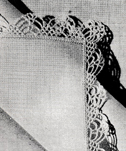Handkerchief Edging Pattern #8365