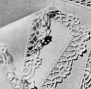 Handkerchief Edging Pattern #8366