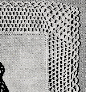 Handkerchief Edging Pattern #8371