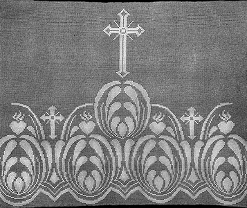 Wide Altar Filet Pattern #9042