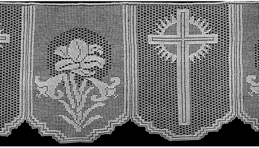 Lily Altar Lace Pattern #9050