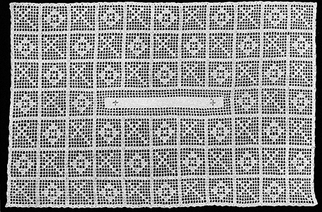 Credence Mat Pattern #9057