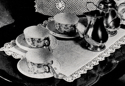 Luncheon Set Pattern #8199