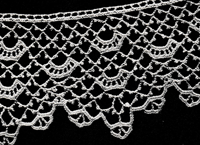 Wider Crochet Edging Pattern #8412