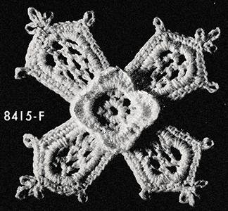 Flower Motif Pattern #8415F
