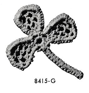 Shamrock Motif Pattern #8415G