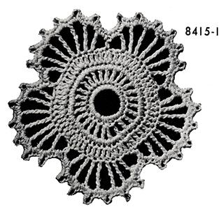 Flowerette Motif Pattern #8415I