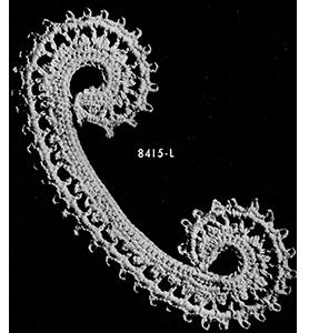 Scroll Motif Pattern #8415L