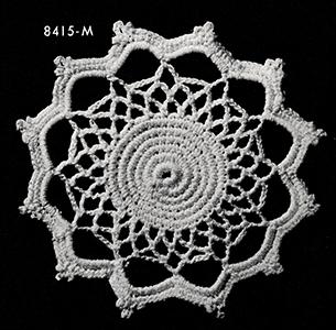 Flowerette Motif Pattern #8415M