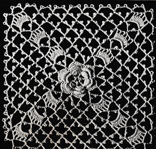 Rosette Motif Pattern #8417A