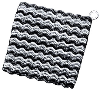 Candy Stripe Potholder Pattern