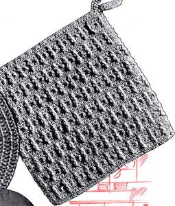 Tapioca Potholder Pattern