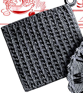 Turnabout Potholder Pattern