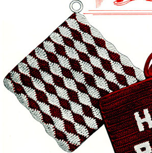 Peasant Fare Potholder Pattern