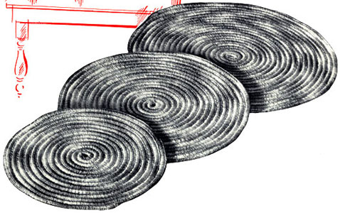Mardi Gras Potholder Pattern