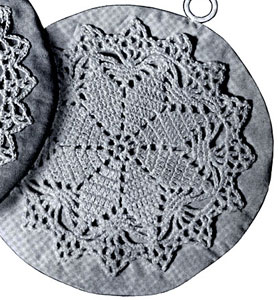 Lucky Star Potholder Pattern