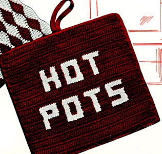 Hot Pots Potholder Pattern
