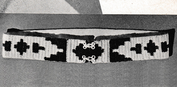 Navajo Belt Pattern #2382
