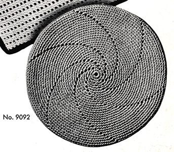 Hot Plate Mat Pattern #9092