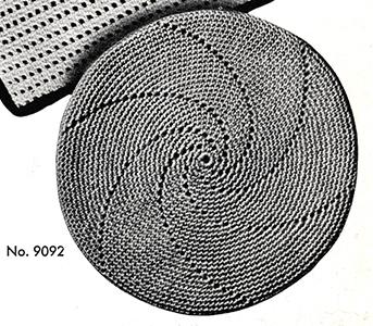 Hot Plate Mat Pattern #9092
