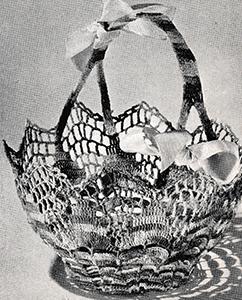 Tisket-a-Tasket Basket Pattern #9097