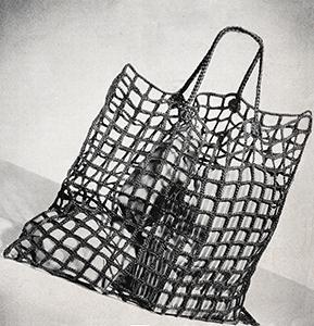 To Market Bag Pattern #9098