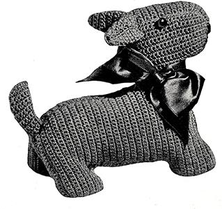Dog Pattern #X-12