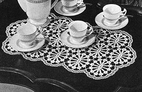 Queen's Taste Placemat Pattern #7183