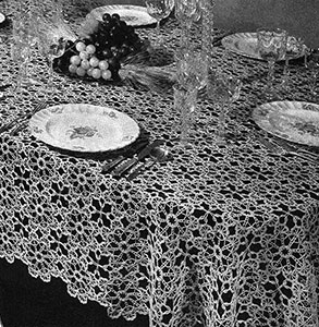 Chatelaine Tablecloth Pattern #7191