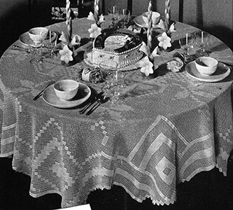 Family Circle Tablecloth Pattern #7194