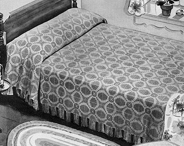 Golden Wedding Bedspread Pattern #672