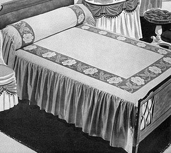 Victoria Regina Bedspread Pattern #683